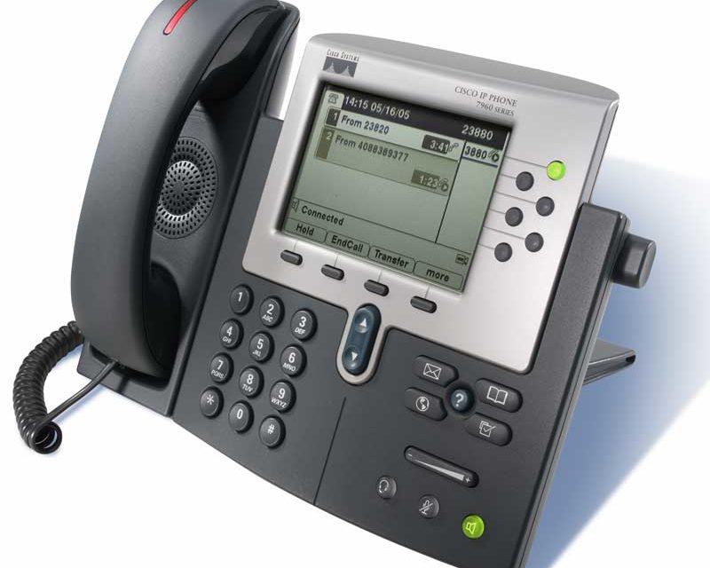 Telefono cisco 7960
