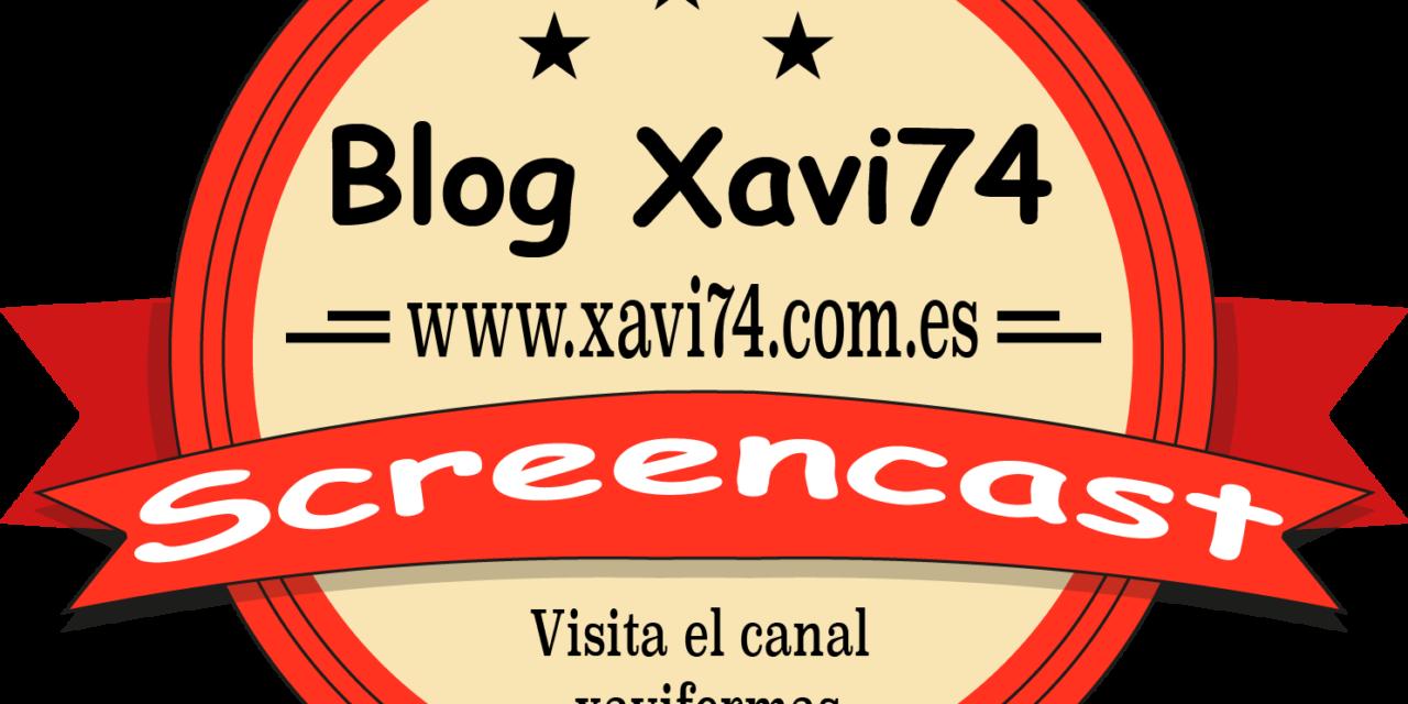 Screencast xavi74.com.es – Drive en Nas Synology