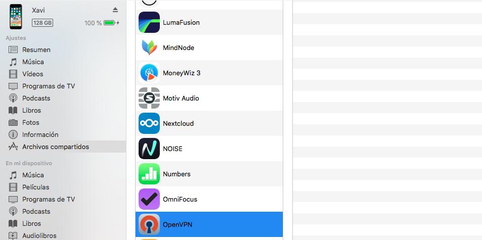 Configurando OpenVPN en iOS